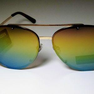 Steve madden rainbow aviator sunglasses